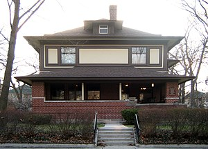 William and Jessie M. Adams House - Image: William M Adams House Front