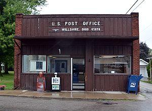 Willshire, Ohio - Willshore post office
