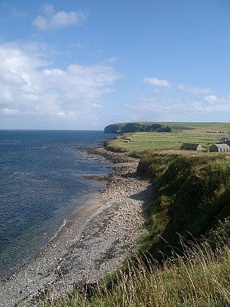 South Ronaldsay - Looking south across Wind Wick, South Ronaldsay.