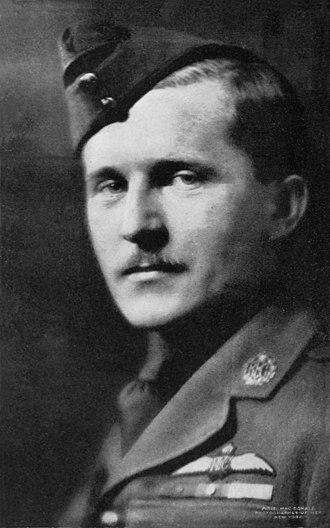 Billy Bishop - Lieutenant Billy Bishop, 1918