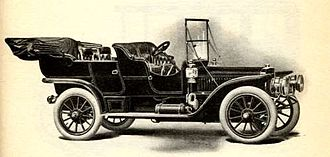 Winton Motor Carriage Company - 1908 Winton touring car