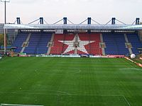 Wisła Stadium North Stand.jpg