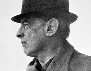 Witold Gombrowicz - Image: Witold Gombrowicz by Bohdan Paczowski detail