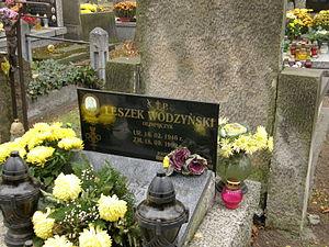Leszek Wodzyński - Grave of Wodzyński at the Powązki Military Cemetery in Warsaw