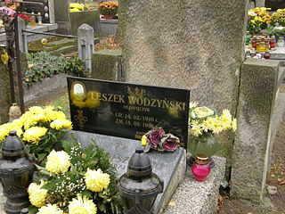 Leszek Wodzyński Polish hurdler