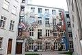 Wojciech Siudmak 'Narodziny dnia' picture on the walls of 4 Więckowskiego Street tenement house in Łódź 01.jpg