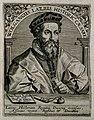 Wolfgang Lazius. Line engraving by T. de Bry, 1650. Wellcome V0003443.jpg