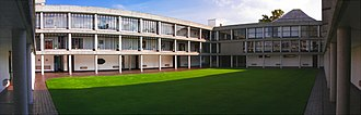 Wolfson College, Oxford - Berlin quad.