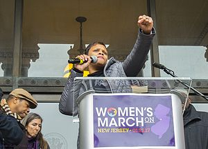 Shavonda E. Sumter - Image: Women's March on New Jersey 1 21 17 32411998416