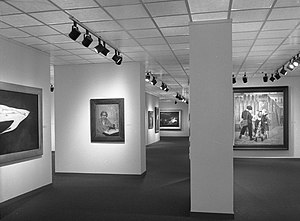 Women Artists: 1550-1950 - Image: Women Artists 1550 1950, Installed at the Brooklyn Museum October 1, 1977 through November 27, 1977 01