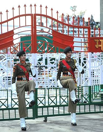 Law enforcement in India - Women personnel of Border Security Force