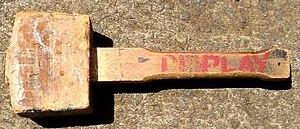 Mallet - A wooden mallet