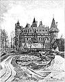 """Woord en Beeld vol 001 p 048 Het Huis """"DE HAAR"""" in restauratie.jpg"""