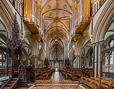Worcester Cathedral choir, Worcestershire, UK - Diliff.jpg