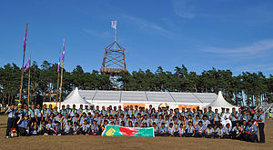 World Scout Jamboree - Scouts at the 22nd World Scout Jamboree