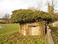 World War II GHQ Line defences overlooking Tilford Bridge, Surrey 05.jpg