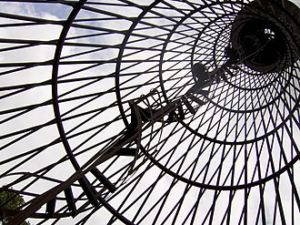 Shukhov Tower in Polibino - Image: Worlds First Hyperboloid structure photo by Sergei Arssenev