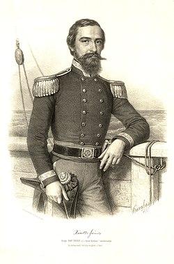 Xántus János portréja (1861)[1]