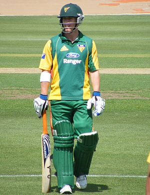 Xavier Doherty - Doherty playing for Tasmania in 2008