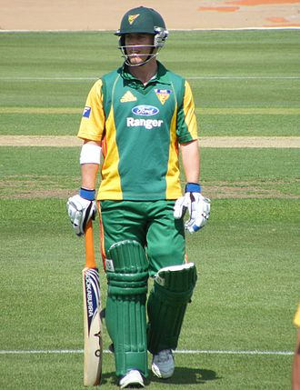 Doherty playing for Tasmania in 2008 XAVIER DOHERTY.jpg