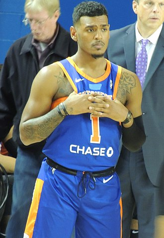 Xavier Rathan-Mayes - Rathan-Mayes with the Westchester Knicks