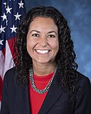 Xochitl Torres Small, official portrait, 116th Congress.jpg