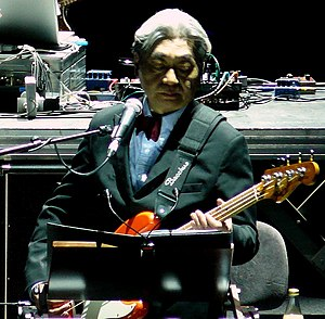 Haruomi Hosono - Performing with YMO in 2008