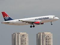 YU-APH - A320 - AirSERBIA