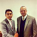 Yap Kwong Weng with General John Allen in Harvard Kennedy School 2013.jpg