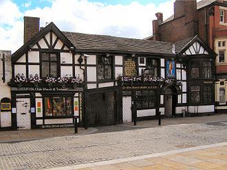 Bolton massacre - Ye Olde Man and Scythe