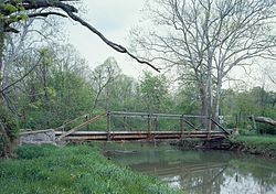 Yeakle's Mill Bridge, completed 1888