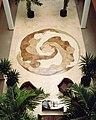 Yehiel Rabinowitz Floor mosaic.JPG