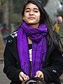 Young Woman on Horseback - Darjeeling - West Bengal - India (12406067093).jpg