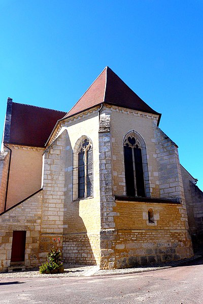 Église d'Yrouerre (InscritInscrit)
