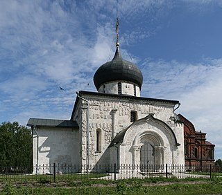 Church in Yuryev-Polsky, Russia
