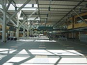 International departures hall.