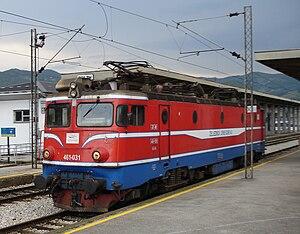 Željeznički prevoz Crne Gore