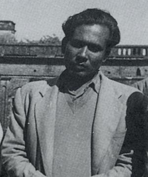 Zainul Abedin - Abedin in 1955