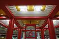 Zaojing decoration in Shunyi Station, BJS.JPG