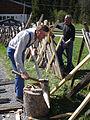Zaunreparatur beim Museum Arlerhof in Abtenau 18.JPG