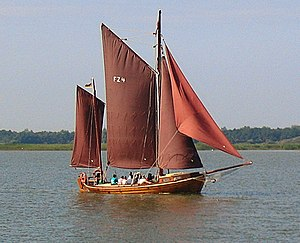 Bodden - Zeesenboot, a traditional type of fishing boat used in bodden areas