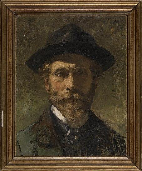 File:Zelfportret, circa 1920 - circa 1936, Groeningemuseum, 0041071000.jpg