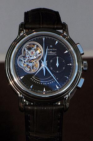 Zenith (watchmaker) - Image: Zenith img 0987
