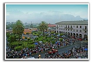 Teziutlán Town in Puebla, Mexico