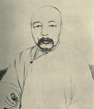 Zuo Zongtang - Portrait of Zuo Zongtang, by Piassetsky, 1875