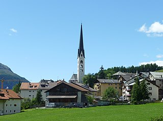 Place in Graubünden, Switzerland
