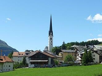 Zuoz - Image: Zuoz Kirche