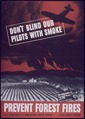 """Don't Blind Our Pilot with Smoke - Prevent Forest Fires"" - NARA - 514135.tif"