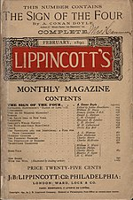"""The Sign of the Four"" in Lippincott's Monthly Magazine (1890).jpg"