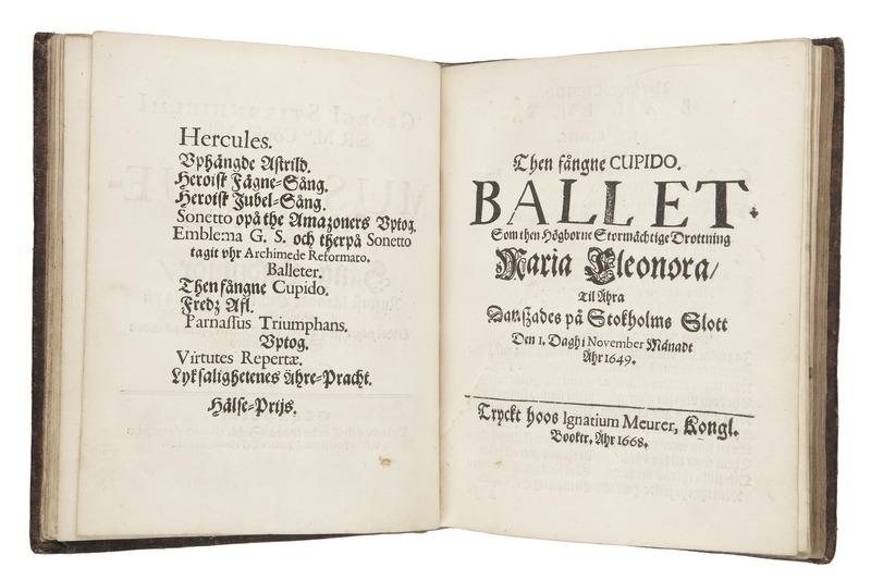 "File:""Then fångne Cupido"" trykt 1668 - Skoklosters slott - 93995.tif"